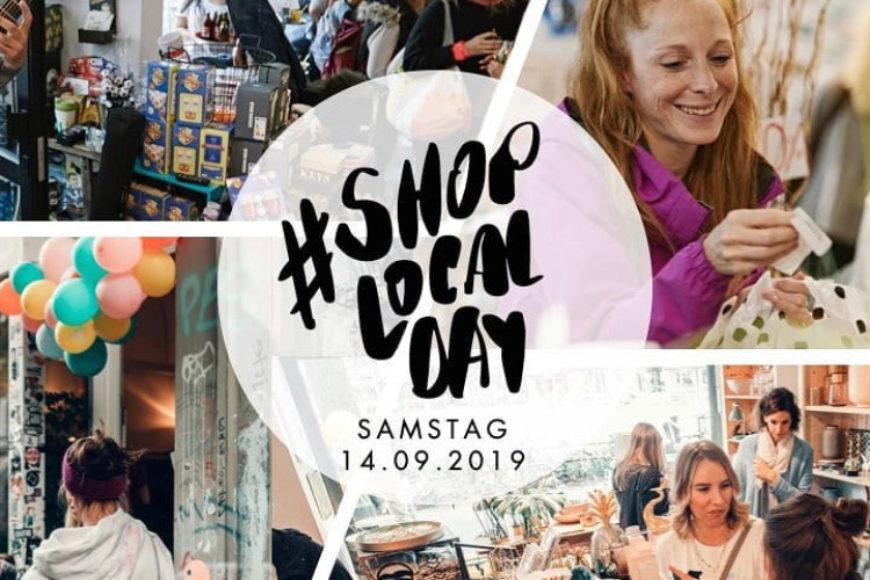 Wir sind dabei beim Shop-Local-Day am Samstag, 14.09.19 ab 11 Uhr